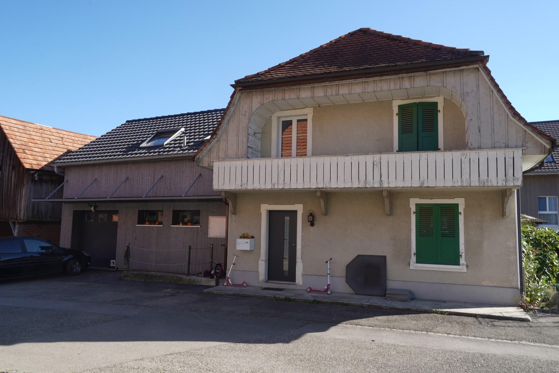 Anbau Einfamilienhaus Walperswil