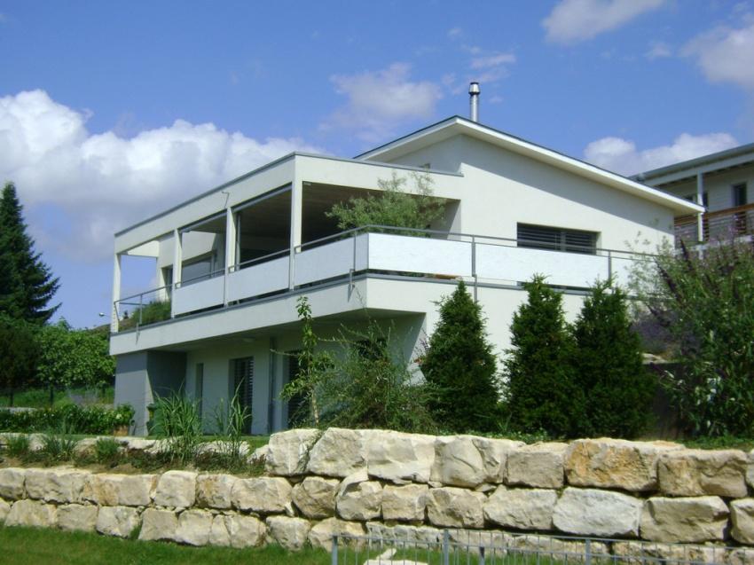 Mathys architektur gerolfingen for Einfamilienhaus modelle