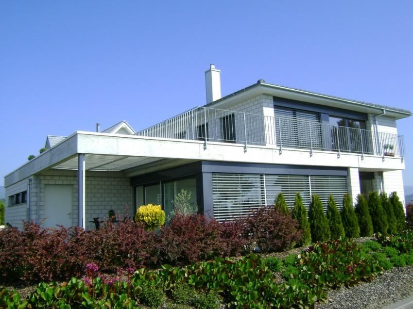 Mathys architektur b hl for Einfamilienhaus modelle