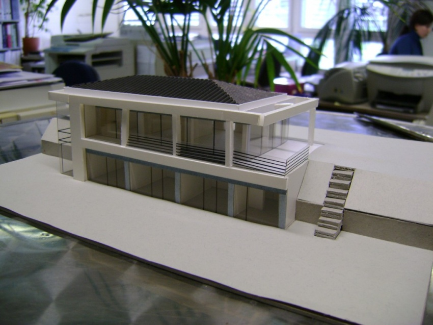 Mathys architektur modelle for Einfamilienhaus modelle